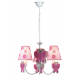Lustra Pink Butterfly Multicolor 3XE14 40W